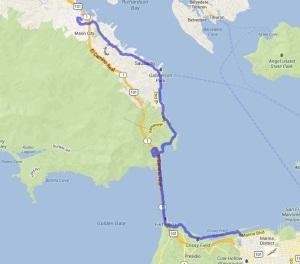 Bay Trail Hike June 1, 2013