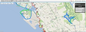 Bay Trail Hike June 14, 2013  Oakland (Fruitvale BART) to San Leandro (Marina Park)
