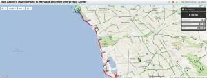 Bay Trail Hike June 15, 2013  San Leandro (Marina Park) to Hayward Shoreline Interpretive Center