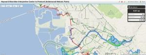 Bay Trail Hike June 16, 2013  Hayward Shoreline Interpretive Center to Fremont (Ardenwood Historc Farm)
