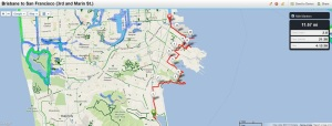 Bay Trail Hike June 27, 2013 Brisbane to San Francisco (3rd and Marin)