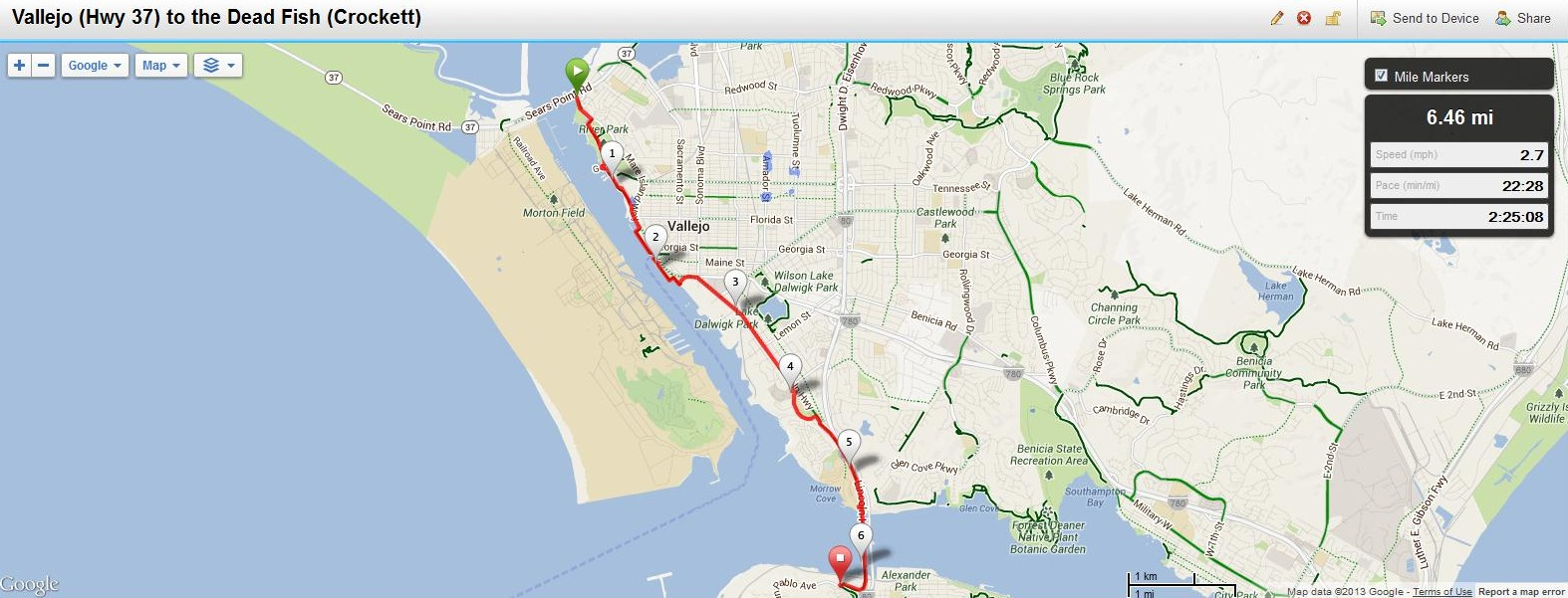 Maps Hike Stats And Transportation The San Francisco
