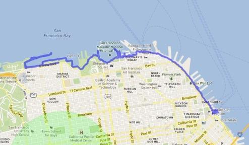 Bay Trail Hike May 31, 2013